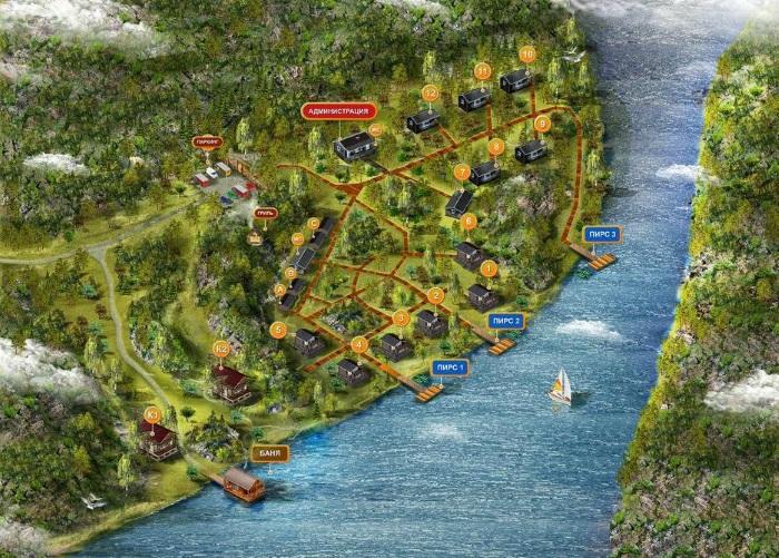 Отдых в Карелии. Домики на берегу озера с рыбалкой, частный сектор, с питанием. Цены