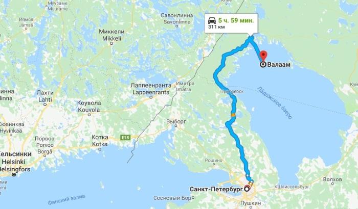 Остров Валаам. Где находится, карта, как доехать на озеро. Фото, достопримечательности, экскурсии