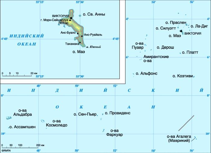 Сейшельские острова. Фото, где находятся на карте мира, туры, цены на отдых, достопримечательности, погода