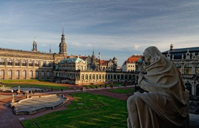 Дрезден. Достопримечательности за один день на карте, Германия. Что посмотреть с детьми, зимой, в окрестностях. Маршрут прогулки