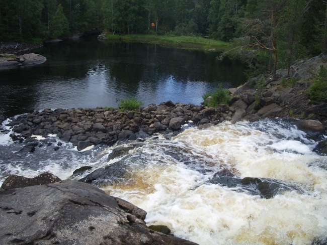 Карелия, Рускеала. Мраморный карьер и водопады, базы отдыха на карте, гостиница. Как добраться, снять домик. Туры и цены
