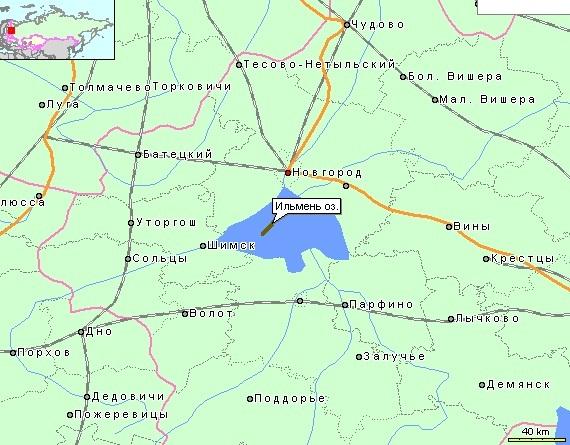 Озеро Ильмень на карте России. Где находится, глубина. Рыбалка, отдых с палаткой на озере