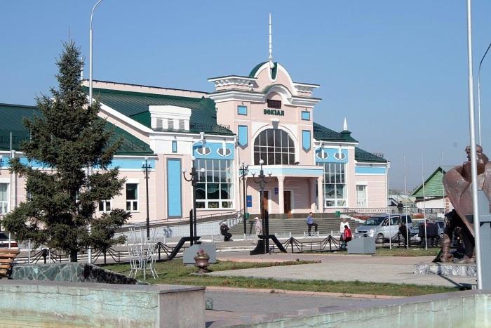Алтайский край в России. Подробное описание на карте с городами и селами