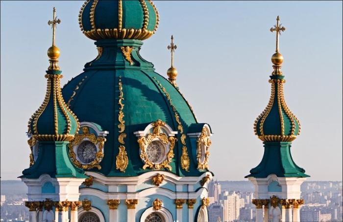 Андреевская церковь в Киеве. Описание, история, факты, адрес, как добраться