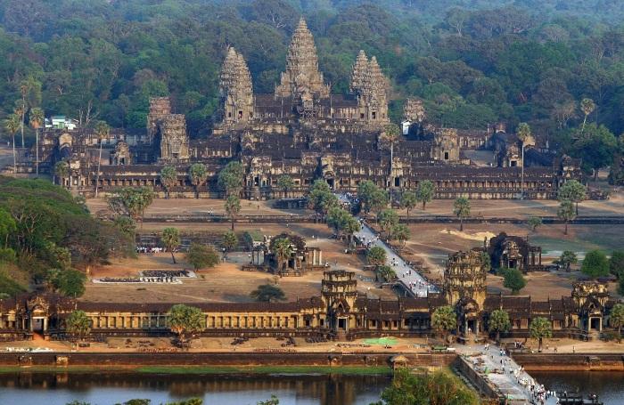 Ангкор Ват Камбоджа детально о храмовом комплексе с фото
