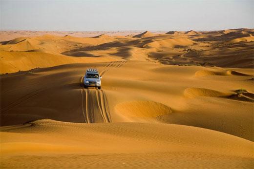 Аравийский полуостров на карте мира. Природные условия, климат, описание
