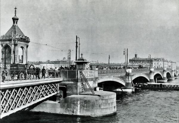 Благовещенский мост в Санкт Петербурге. История, где находится на карте, ближайшее метро, архитектор