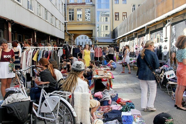 Блошиный рынок в Санкт-Петербурге. Адреса, часы работы, фото