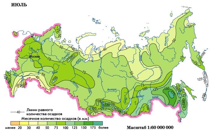 Дальний Восток. Карта с городами и поселками. Географическое положение, площадь, рельеф, климат, население, природа, животные региона