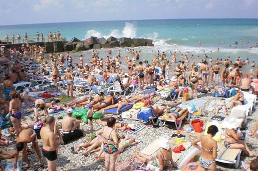 Дивноморское. Фото поселка и пляжа Отдых в курортном поселке Дивноморское. Фото, пляж, цены на жилье
