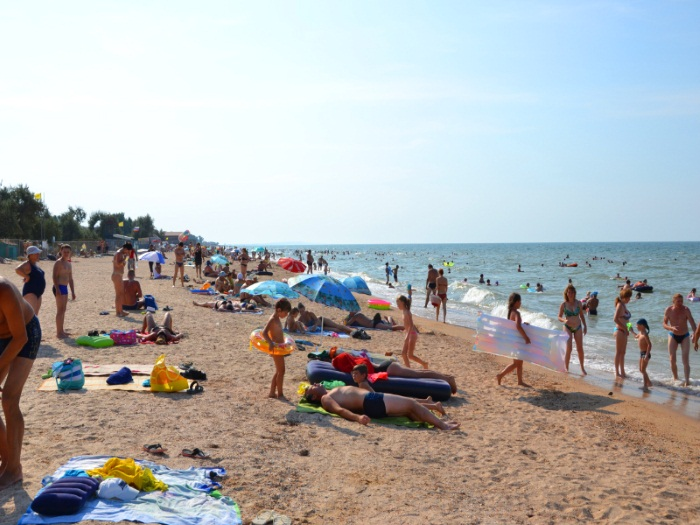 Голубицкая. Фото поселка и пляжа. Отдых 2019, цены базы отдыха, гостиницы, гостевые дома, частный сектор