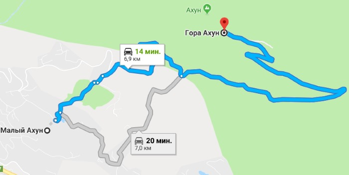 Гора Ахун, Сочи. Как добраться самостоятельно на машине, автобусе. Экскурсии, смотровая башня, агурские водопады