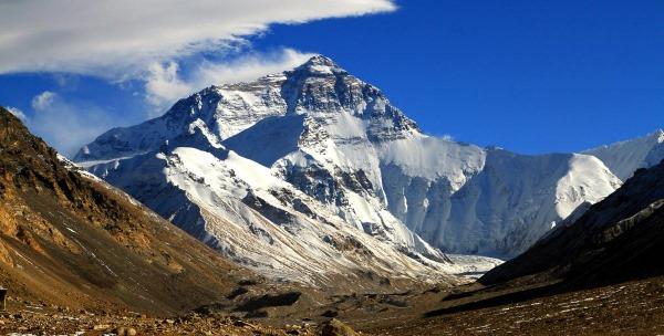 Где находится Эверест - географическое расположение на карте