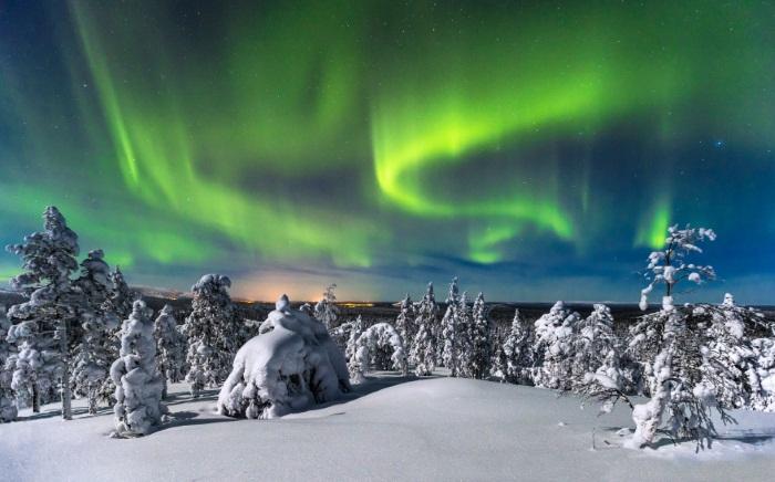 Горнолыжные курорты Финляндии на карте. Рейтинг: Рука, Леви, Тахко, Юлляс, Коли, Вуокатти, Химос