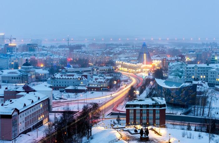 Ханты-Мансийск на карте России. Где находится, достопримечательности города, фото