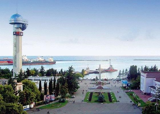 Карта Черноморского побережья России с курортами. Подробная с городами и поселками