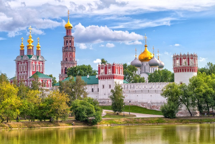 Moscow mens monastery of donskoy