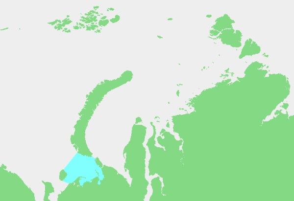 Моря Северного Ледовитого океана. Обитатели, течения, соленость, площадь