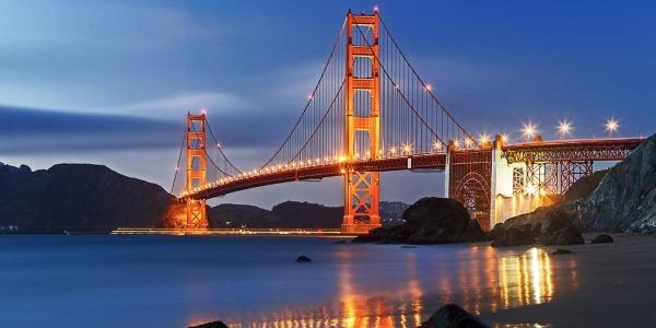 Мост Золотые Ворота в Сан-Франциско, описание и фото