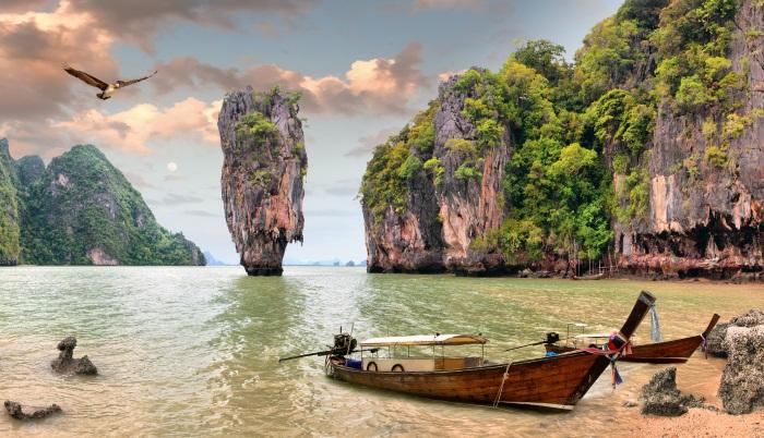 Остров Джеймса Бонда в Тайланде. Как добраться, где находится на карте, как называется