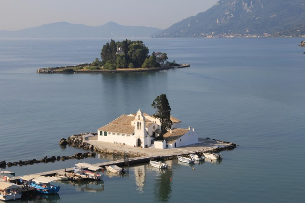 Остров Корфу в Греции. Погода, достопримечательности, отели, пляжи, отдых