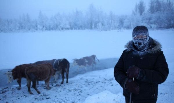 Оймякон. Самая низкая температура, погода. Расположение на карте России