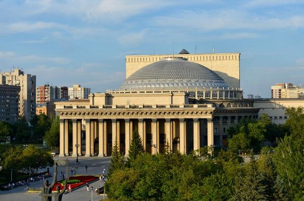 Памятники и достопримечательности Новосибирска. Фото и описание