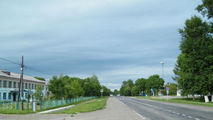 Приморский край на карте России с городами и деревнями. Фото