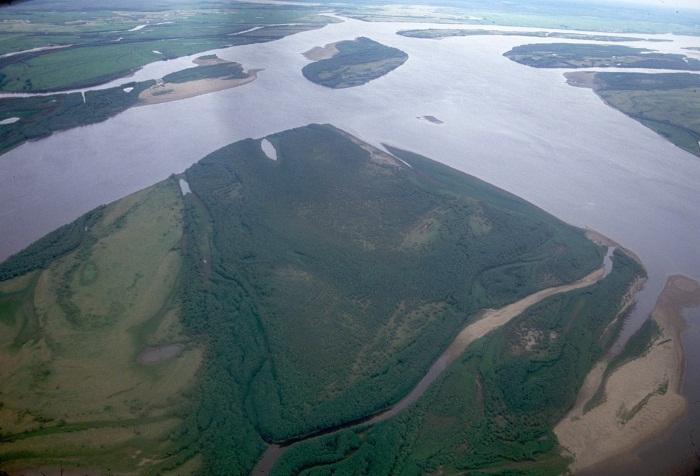 Река Амур на карте России. Где находится исток, устье. Описание: длина, глубина, течение, города