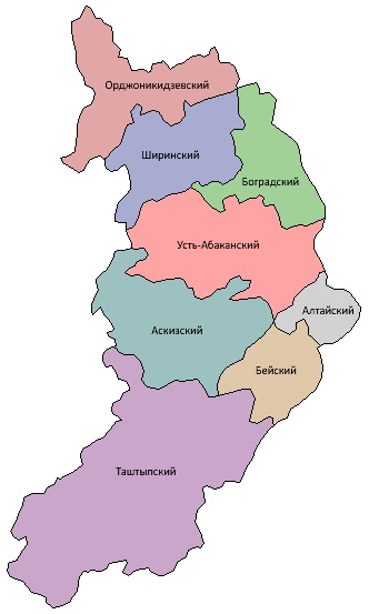 Республика Хакасия на карте России. Где находится, столица, история, достопримечательности