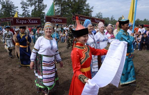 Республика Тыва на карте России. Столица, флаг, герб, население, достопримечательности