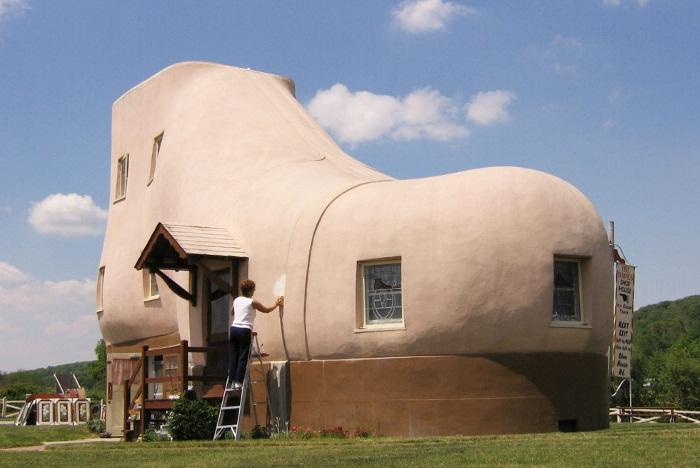 Самые необычные дома в мире. Фото внутри и снаружи