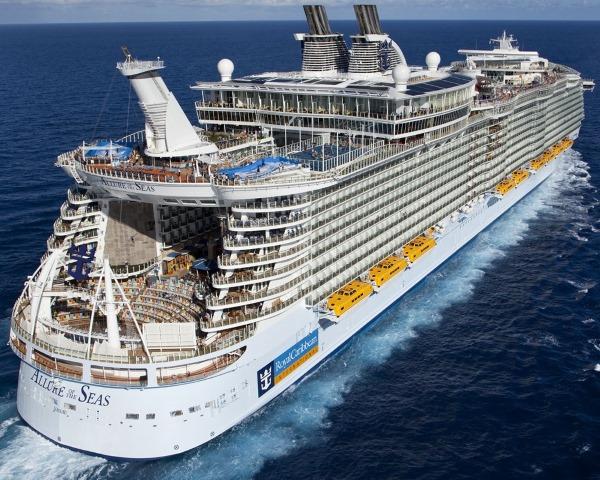 Самый большой круизный лайнер в мире. Фото, видео, цены билетов