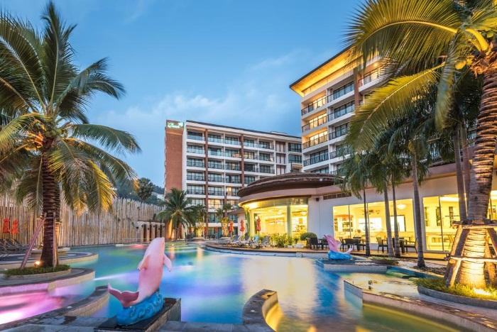 The Beach Heights Resort 4, Phuket Kata (Таиланд). Отель Бич Хайтс на карте, фото, туры. Отзывы туристов