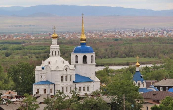 Улан-Удэ на карте России. Где находится, достопримечательности