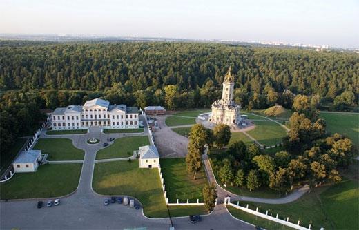Усадьбы Москвы и Подмосковья для свадьбы, открытые для посещения, для отдыха