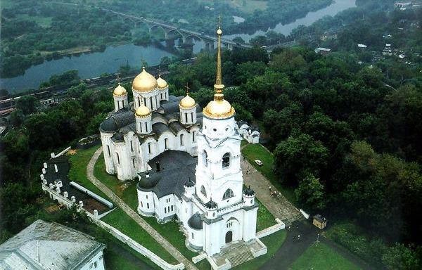 Успенский Собор во Владимире. Строительство, архитектор, описание, интересные факты, как работает, как добраться