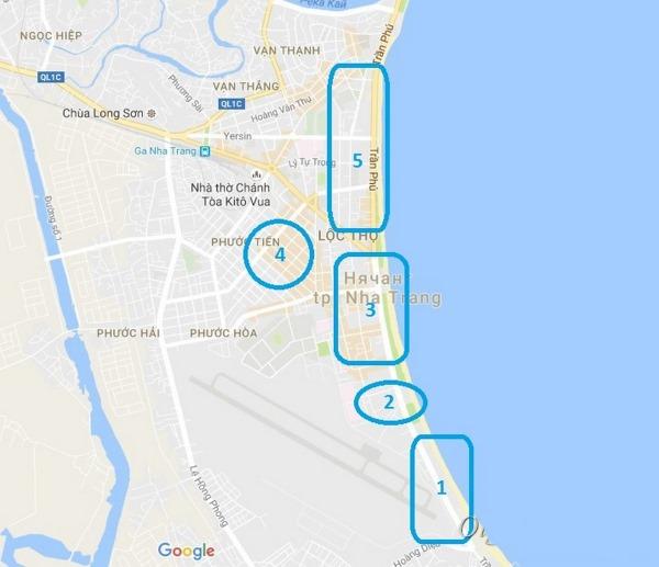 Вьетнам. Карта с курортами на русском языке. Куда и когда лучше ехать на отдых. Цены