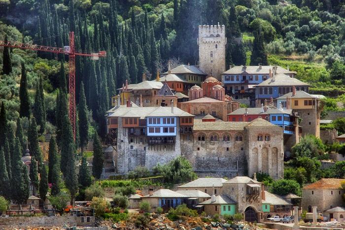 Афонские монастыри в Греции на Святой горе Афон. Описание, история паломничества