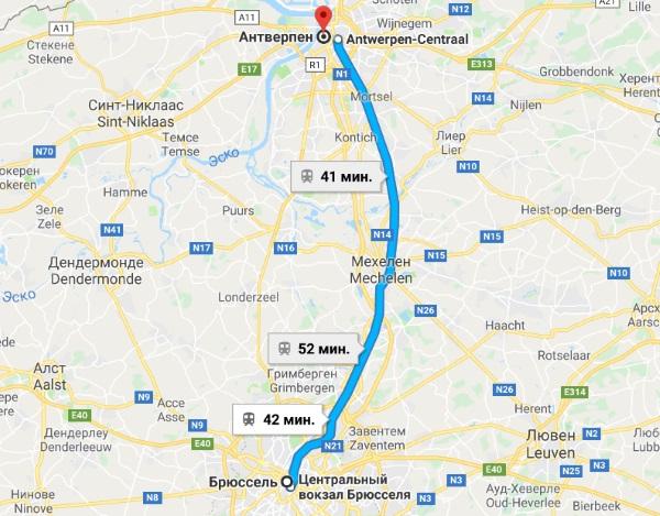 Антверпен. Достопримечательности с описанием, маршрут на карте города, что посмотреть туристу