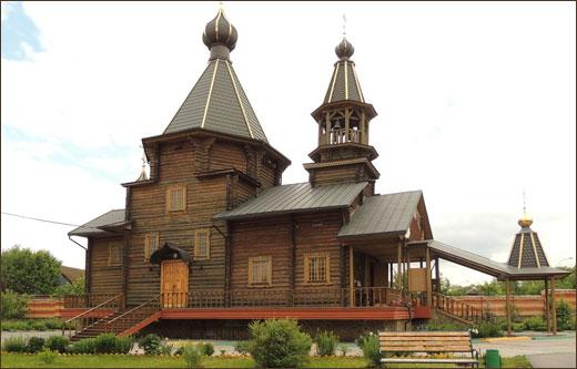 Храм Троеручица в Орехово Борисово