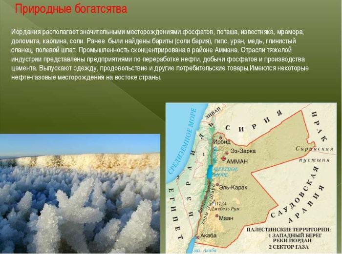 Иордания на карте мира. Достопримечательности, описание, где находятся