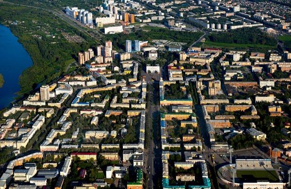 Кемерово. Фото, где находится на карте России, достопримечательности города