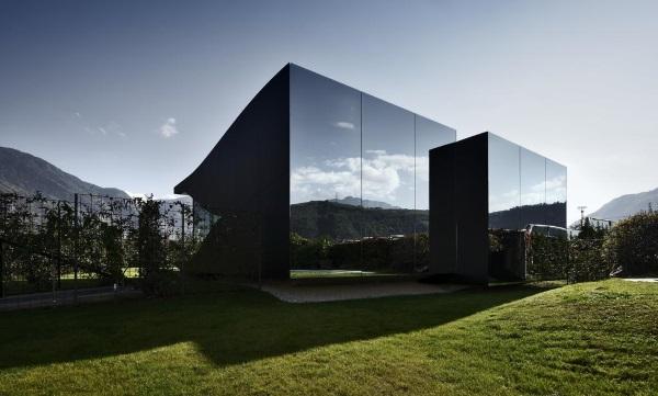 Красивые дома. Топ-10 креативных проектов. Фото внутри и снаружи
