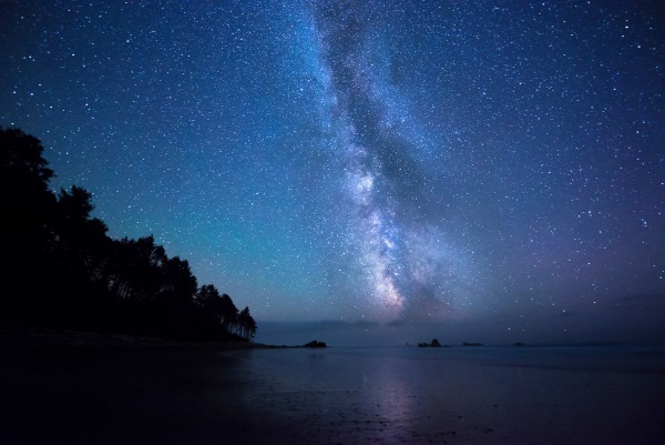 Ночное небо. Фото со звездами, в городе, лесу, горах. Красивые картинки из разных уголков планеты