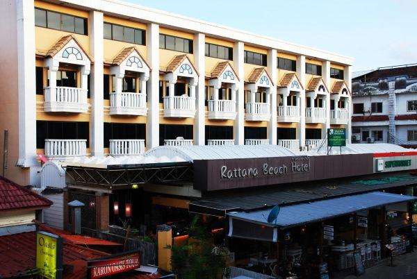 Rattana Beach Hotel 3* Phuket Karon, о.Пхукет Таиланд. Описание отеля, цены