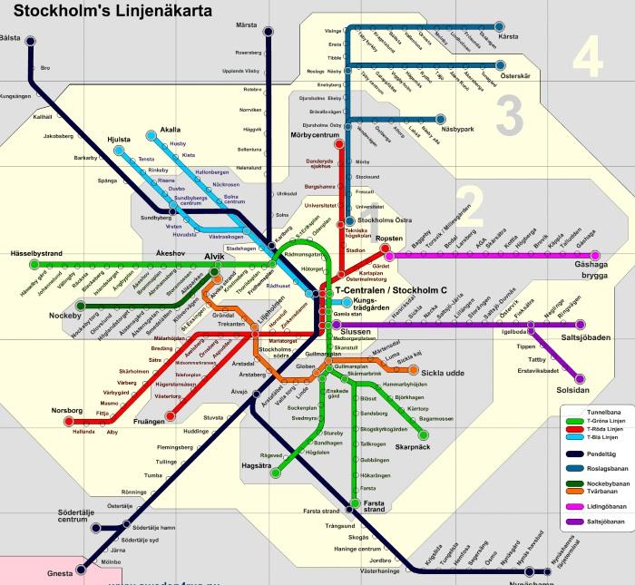 Самые красивые станции метро Стокгольма. Фото, схема, карта, как пользоваться, цена билета