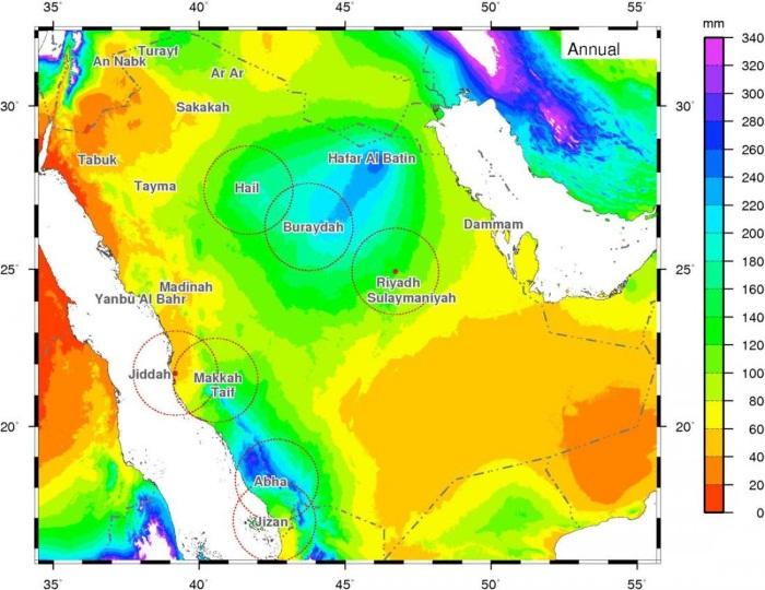 Саудовская Аравия на карте мира. Столица, фото, история