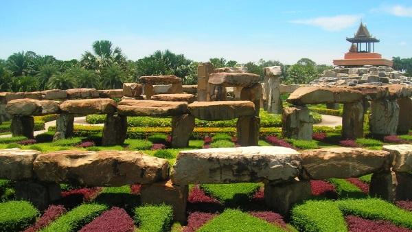 Тропический сад Нонг Нуч в Паттайе фото как добраться