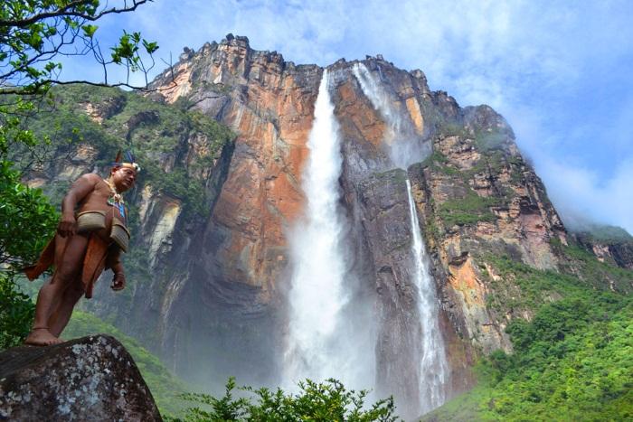 Водопад Анхель. Где находится на карте мира, фото, описание. Чем уникален